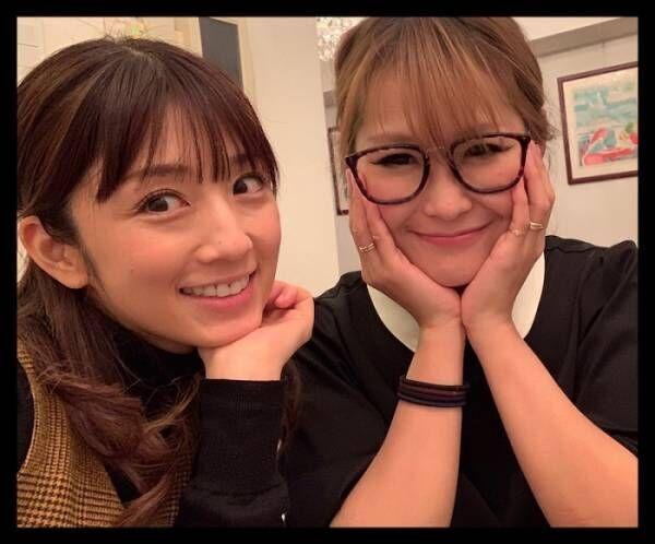 ギャル曽根、大好きな小倉優子との2ショット披露「顔を小さく見せようと」