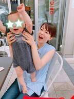本田朋子アナ、自身の幼少期と似ている息子の髪質「そのうちストレートになるのかな!?」
