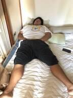 まんぷくフーフー松丸ほるもん、体重120kgの夫が救急車で搬送「原因はハッキリとは言えない」