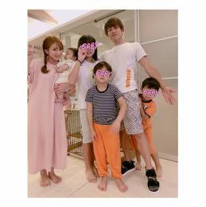 辻希美、夫・杉浦太陽へ子ども達が父の日プレゼント「皆パパが大好き」