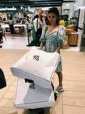 石倉ノア、交際中の島袋聖南と買い物へ行き大量買い「すげー荷物」