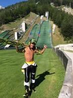 葛西紀明、3か月ぶりに飛んだジャンプ台「目標体重に達したので」