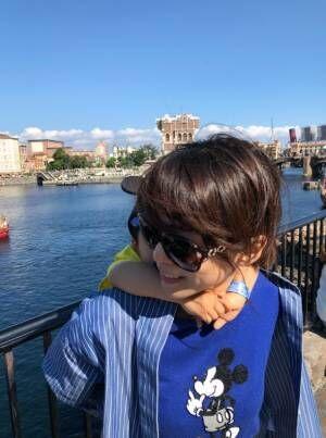 釈由美子、東京ディズニーリゾートで息子の誕生日をお祝い「親子のふれあいを大切にしていきたい」