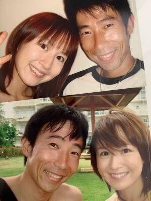 山川恵里佳、夫・モンキッキーとの懐かしい写真を公開「やっぱりシワ少ない」