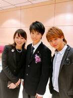 渡辺美奈代、次男の卒業式に出席し涙「目が腫れてる」