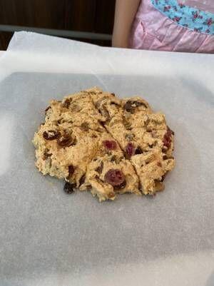 つんく♂、8歳次女が学校の課題でお菓子作りに挑戦「わーお!すてき!」