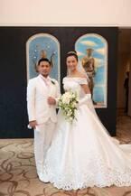 K-1・卜部弘嵩選手、妻・高橋ユウとの挙式の様子を報告「親族や仲間に見守れながら」