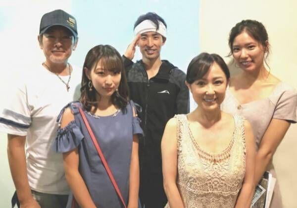 布川敏和、元妻・つちやかおり&子ども達と5ショット「娘2人も来ていたので」