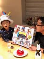 市川右團次、長男・タケルくんが9歳の誕生日を迎える「中華で…お祝いで~~す」