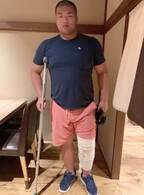 はなわ、長男が柔道の練習中に膝を負傷「診断の結果次第では手術になるかも」