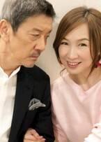 森口博子、奥田瑛二との接近2ショットを公開「セクスィ~」