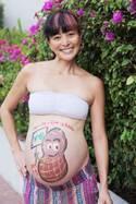 元ミステリーハンター日記、第6子妊娠時のマタニティフォトを公開「テーマはピーナッツ」