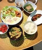 """小川菜摘、""""あり合わせでチャチャっと""""な朝食を公開「浜田さんが羨ましい」「美味しそう」の声"""