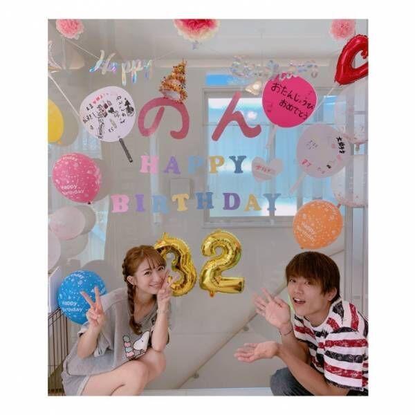 """杉浦太陽、妻・辻希美の誕生日を""""ケーキ姿""""でお祝い「念入りに計画していたサプライズ!」"""