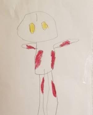 小原正子、長男が描いた絵にしみじみ「その子の昔と比べると感動しかないもの」