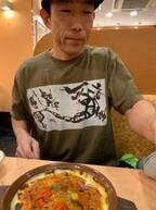 山川恵里佳、サイゼリヤで夫・モンキッキーの食欲に驚き「常に成長期!」
