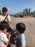 大渕愛子弁護士、家族で行った上海旅行を振り返る「3兄妹の戯れる姿が印象的」