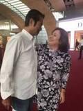 キャシー中島、夫・勝野洋の古希祝い旅行から帰国「勝野パパ慰労の旅です」