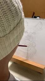 滝川英治、口で描いた愛犬の絵を公開「魂がこもってる」「温かい絵」の声