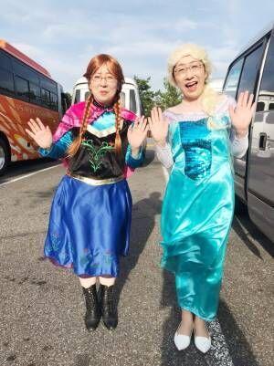 """阿佐ヶ谷姉妹、""""アナ雪""""のコスプレを披露するも「北海道でチーズを作っている人」とツッコミ"""