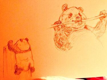 倉科カナ、母との電話中に描いた絵に「上手い」「かなりの腕前」の声