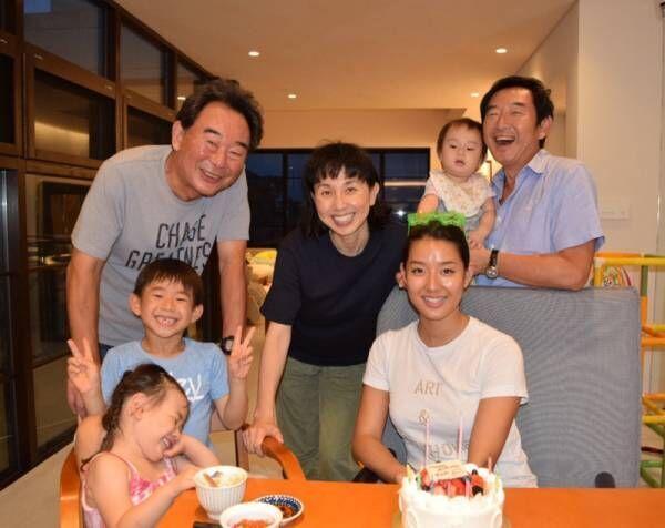 東尾理子、すみれの誕生日をお祝い「ますます綺麗になってる自慢のお姉ちゃん」
