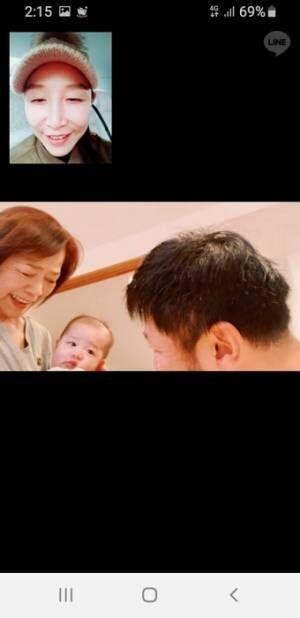 """小原正子、""""母と、息子と、息子の娘""""3世代ショットに「これぞ幸せ~」"""