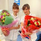 小松彩夏『白衣の戦士!』最終回を前に山崎萌香と2ショット「可愛いでしょ」