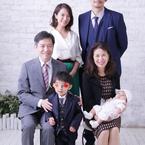 神戸蘭子、素敵に撮れた家族写真を公開「お宮参り後に、スタジオへ」
