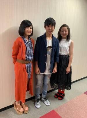 鈴木福、元子役3ショットを公開「のんちゃんと蘭ちゃんが暴露?(笑)」