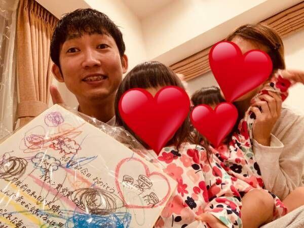 ノンスタ石田、妻と娘達からの受賞&結婚祝いに感激「父ちゃんご機嫌」