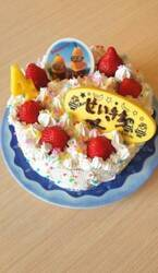 小原正子、長男・誠希千くんの誕生日に手作りケーキ「喜んでくれるかな~」