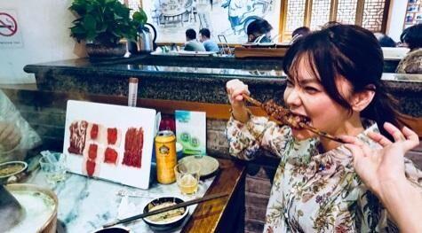 倉科カナ、豪快な食べっぷりに「めちゃめちゃ可愛い」「楽しそう」の声