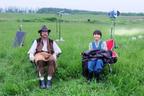 草刈正雄、広瀬すずとの『なつぞら』2ショットを公開「演劇頑張るんだよ~!」