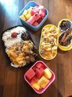 みきママ、高野豆腐を使った塾弁当を公開「今日も1日頑張れ~!!」