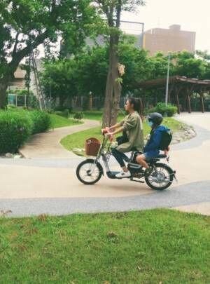 インリン、ペダルを踏まない台湾の電動自転車を紹介「最初買うときにビックリ」