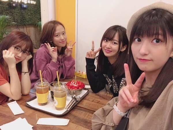 モー娘。森戸知沙希、メンバーと一緒に食事へ「珍しい!!!笑」