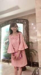 アグネス・チャン、同窓会のピンクコーデに「可愛すぎ!!!!!」の声