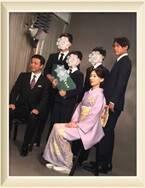白城あやか、夫・中山秀征らと家族写真「みんな大きくなりました」