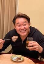 花田虎上、あっというまに完食した妻の料理「食べたのはほとんど私」