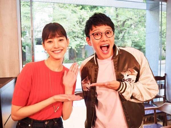 """新木優子、""""元カレ""""のミキ・亜生と2ショット「楽しい撮影でした」"""