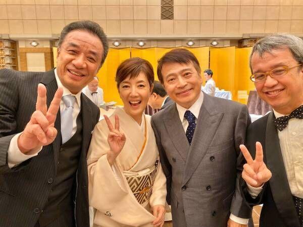 戸田恵子、春風亭昇太の披露宴に出席「昇ちゃん、お幸せに~」