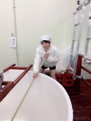 もえあず、オリジナルの日本酒造り「日本酒造りは命がけ!」