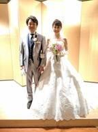 """小林麻耶、""""プチ結婚式""""を報告「とっても綺麗」「おめでとう」の声"""