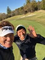 ヒロミ、明石家さんまとゴルフへ行き2ショット「笑い声が聞こえてきそう」「めっちゃ楽しそう」の声