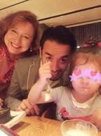 キャシー中島、息子の誕生日会の様子を報告「素晴らしい年になるように」