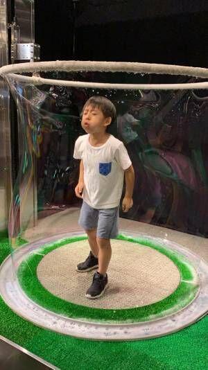 """東尾理子、長男・理汰郎くんと行った大人も楽しめる場所「""""ほ~!""""となる事がたくさん」"""