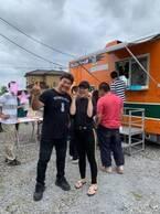 北斗晶、町内会の集会所にやってきた吉野家の移動販売車「凄く嬉しかったです」
