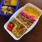 加護亜依、毎日お弁当の子ども達「今日は、そぼろ弁にしました」