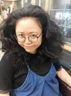 """ニッチェ・江上、前髪に""""ストパー""""をかけた写真を公開「素敵」「新鮮」の声"""